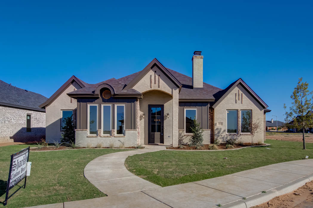 Beautiful home in Lubbock, Texas, built by Sharkey Custom Homes.