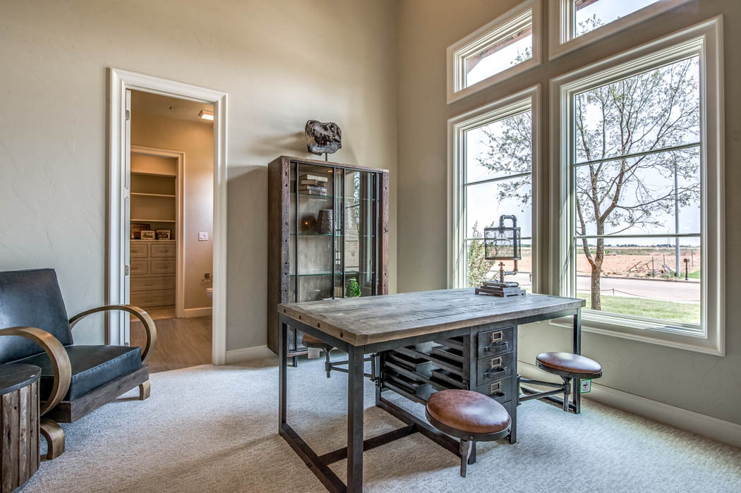 Amazing office space in home in the Lubbock area.
