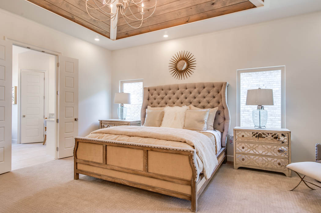 Amazing, spacious bedroom in Lubbock area home.